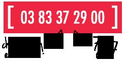 DSV Appelez-nous au 03 83 37 29 00
